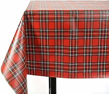 Vinylla Royal Stewart Tartan Vinyl Coated Cotton