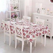 Vinylla Swiss Rose Easy Wipe Clean PVC Tablecloth