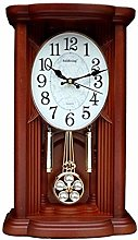 Vioaplem Antique Swing Desk Clock Music Retro Desk