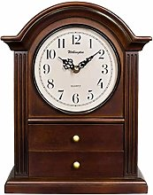 Vioaplem Arch-top Mantel Clock, Antique Style,