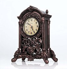 Vioaplem Classic Antiqued Quartz Mantel Clock