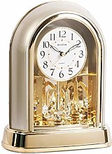 Vioaplem Classical Table Clock Living Room Mantel