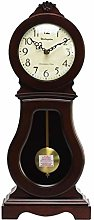Vioaplem Hourly Music Desk Clock Antique Wooden