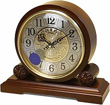 Vioaplem Music Hourly Chime Table Clock European