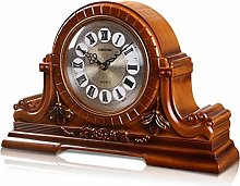 Vioaplem Retro Desktop Clock With Sn Function