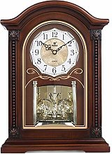 Vioaplem Table Clock Silent Quartz Movement Table