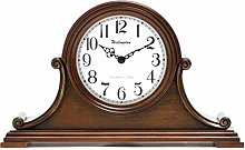 Vioaplem Vintage Clock Wooden Hourly Bells Quartz