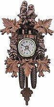 Vioaplem Vintage Home Decorative Mini Cuckoo Clock