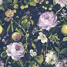 Viola Floral Wallpaper Flower Plant Leaves Basket