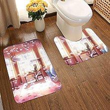 Violet Evergarden Soft Flannel Floor Mats Carpets
