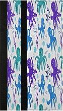 Violet Octopus Refrigerator Door Handle Covers 2