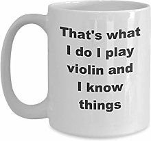 Violin Mug - Funny Gift Idea for Professional