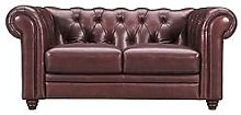 Violino Chester Premium Leather 2 Seater Sofa