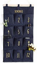 VIONNPPT Wall Hanging Storage Bag Organiser for