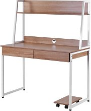 Virgie Computer Desk Ebern Designs Top Colour:
