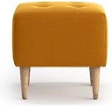 Virgil Footstool Fjørde & Co Upholstery Colour: