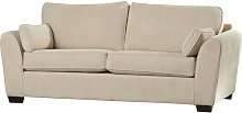 Virginis 3 Seater Sofa Wrought Studio Upholstery: