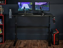 Virtuoso Elevation Gaming Desk - Black
