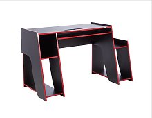 Virtuoso Horizon Gaming Desk - Red and Black