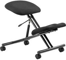 Visby Kneeling Chair, Black, Free Standard Delivery