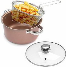 Vision4ever 4-in-1 Stove Top Chip Pan Deep Fat Fry