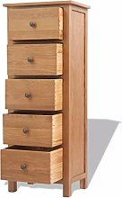 Vislone Bedside Table Tallboy Chest of Drawers