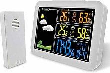 VISLONE Digital Alarm Clock Weather Forecast