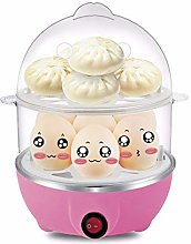 VISTANIA Double Layer Egg Boiler Steamer Electric