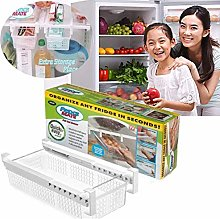 VISTANIA Fridge Mate Refrigerator Pull Out Bin And