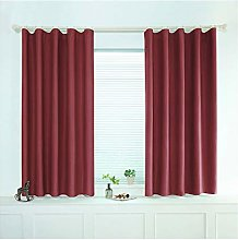 VISZC 2 pieces blackout curtain with eyelets