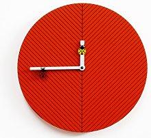 Vita 30 cm Wall Clock Happy Larry Colour: Dark