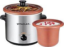 VitaClay VS7600-2C 2-in-1 Yogurt Maker and