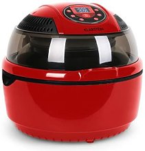 VitAir Hot Air Fryer grill and bake 9 litre Red