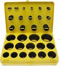 Vital Parts 382pcs O-Ring Kit, Rubber Washer