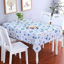 VITALITY Modern Wipe Clean Tablecloth,Rectangular