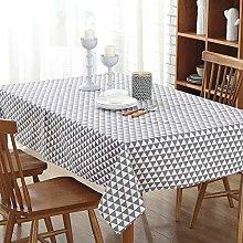 VITALITY Round Plastic Tablecloth,Rectangular