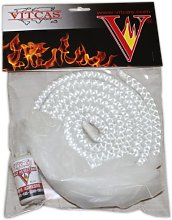 VITCAS White Stove Rope Replacement Kit 6mm