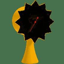 Vitra - Ceramic Clock - yellow - Yellow/Yellow