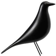 Vitra - Eames House Bird - black - Black/Black
