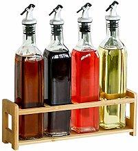 Viudecce 4X 500Ml Oil Dispenser Olive Vinegar