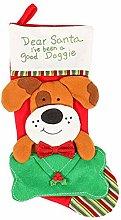Viudecce Cartoon Christmas Stockings Plush Candy