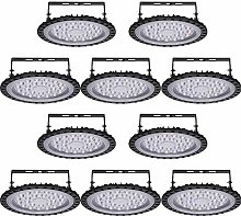Viugreum 10 Pack 100W UFO LED High Bay Light,