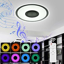 Viugreum Music Ceiling Light with Bluetooth