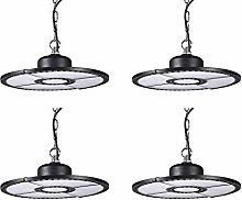 Viugreum UFO LED High Bay Light,4 pack85-265V 200W