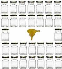 Viva Haushaltswaren 30Square Glass Jam Chutney