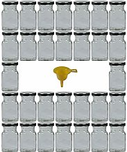 Viva Haushaltswaren 30Square Spice Jar/Jam Jars