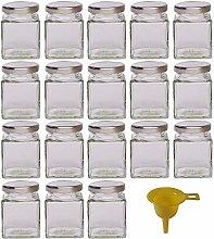 Viva Haushaltswaren jam jars/spice jar, Glass,