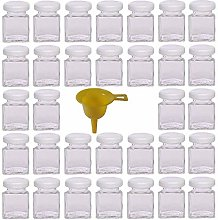 Viva Haushaltswaren jam jars/spice jar, lid white,