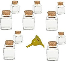 Viva housewares spice jar made of glass with cork