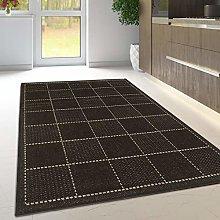 Viva Rugs Black Kitchen Rug Non Slip Living Room